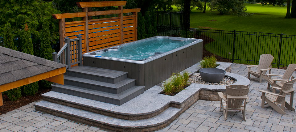 Swimming Pool Deck Cleaning : Hydropool self cleaning hot tubs