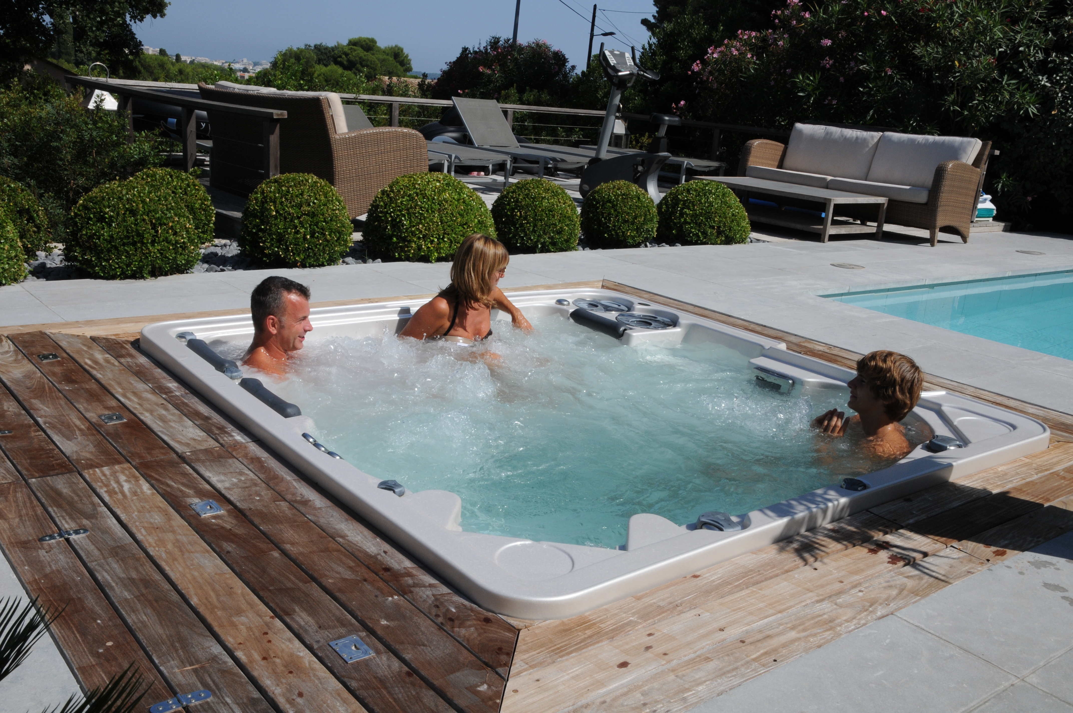 home spastone large productions tubs water hot tub