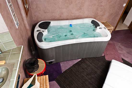 indoor hot tub serenity 2 special edition spa. Black Bedroom Furniture Sets. Home Design Ideas