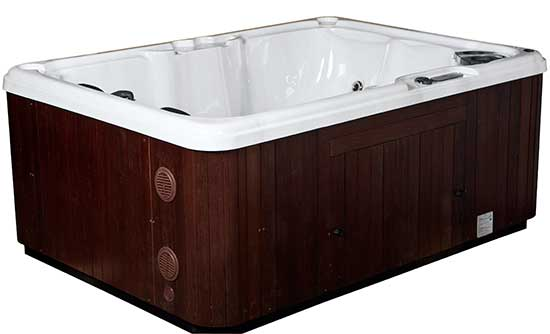 Serenity 4000 Hot Tub three quarter view