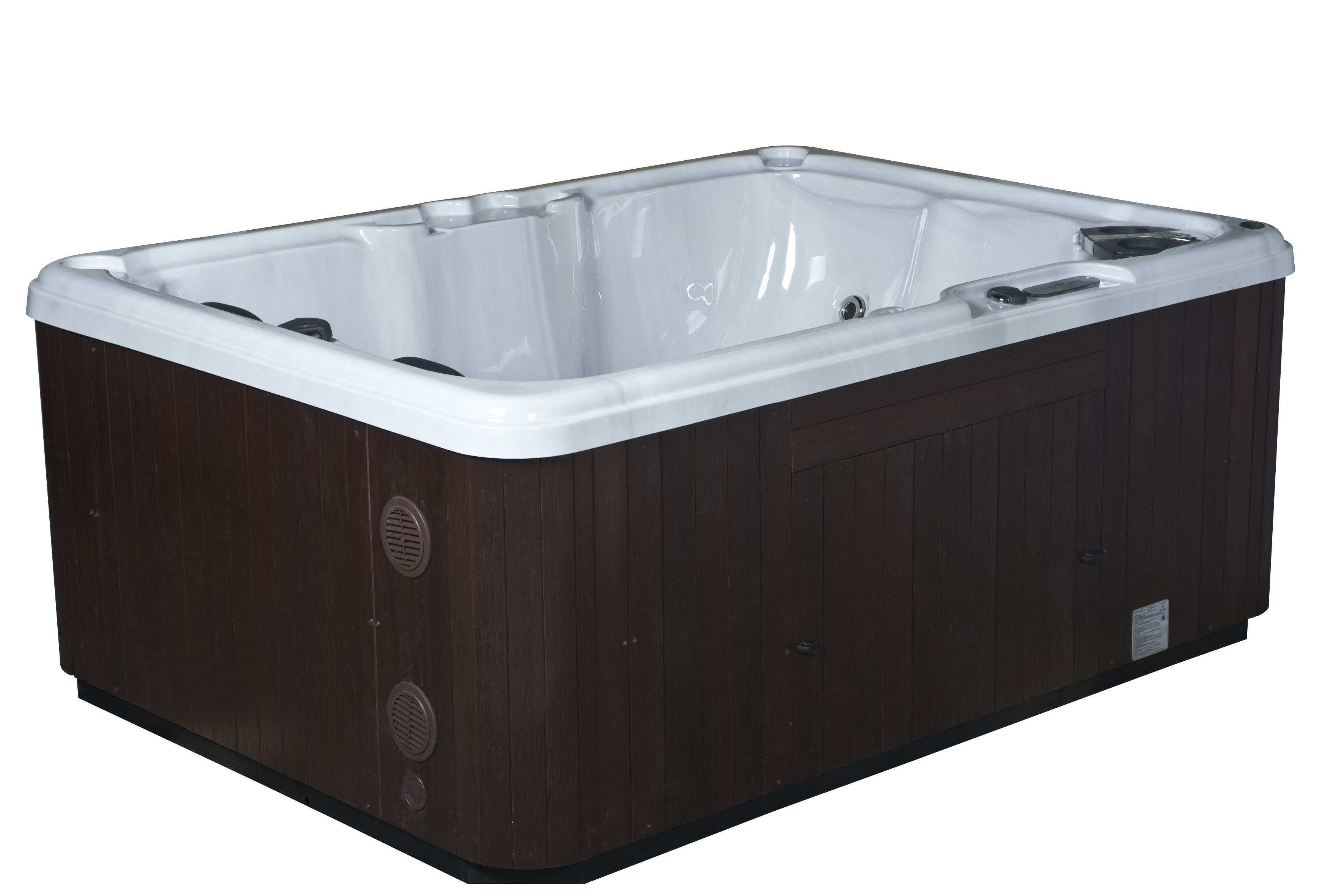 Cabinets and Steps - Features and Options for Hot Tubs and Swim ...