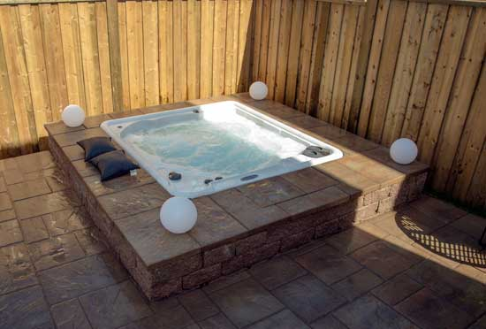 Serenity 5 Hot Tub inground