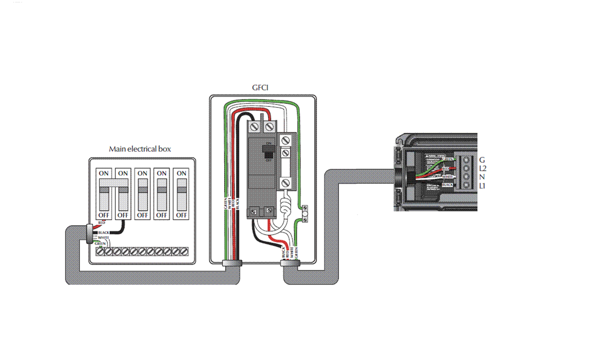 Caldera Spa Gfci Wiring Diagram Spa Disconnect GFCI Wiring