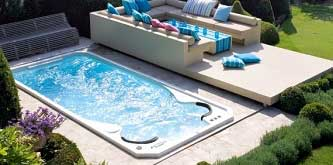 Swim spas swim spas and hot tubs hydropool store for Exercise pool canada