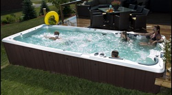 Hydropool Swimspa Installation