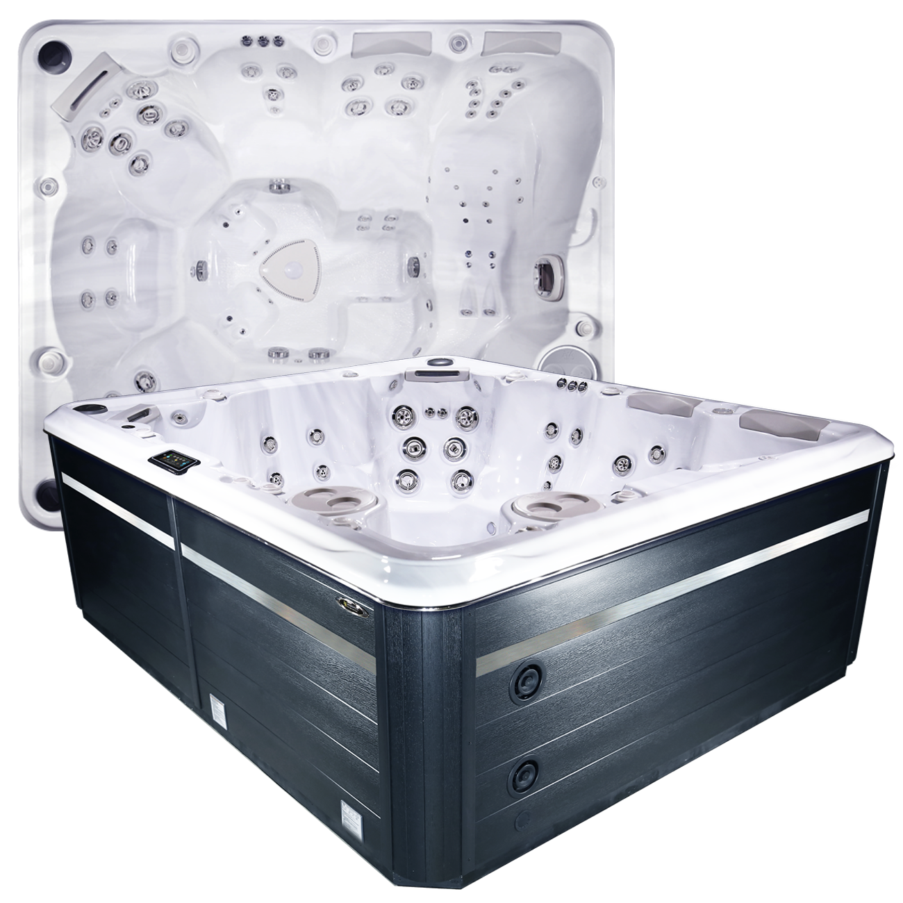970 Titanium - 9 Person Hot Tub