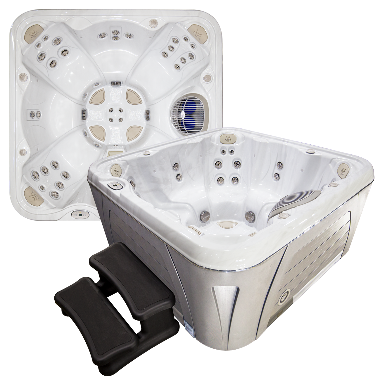 Hot Tubs For Sale From Hydropool Spas