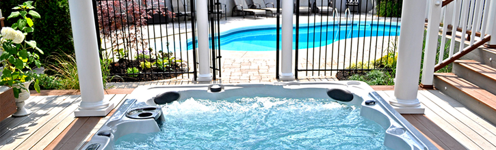 Can a Hot Tub Sit on Pavers? | Blog